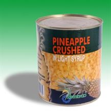 Picture of Pineaple crushed in light syrup