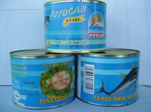 Picture of Tuna solid in oil, in brine, in tomato sauce, in curry